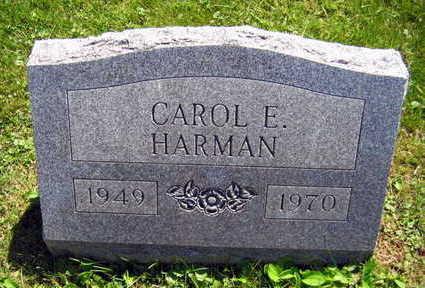 HARMAN, CAROL E. - Linn County, Iowa   CAROL E. HARMAN