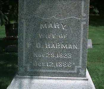 EAMES HARMAN, MARY - Linn County, Iowa | MARY EAMES HARMAN