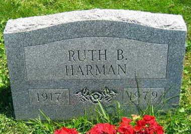 HARMAN, RUTH B. - Linn County, Iowa | RUTH B. HARMAN