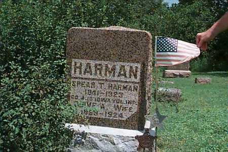 HARMAN, ANNIE - Linn County, Iowa | ANNIE HARMAN