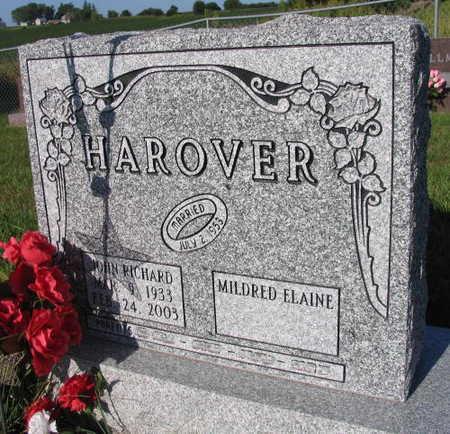 HAROVER, JOHN RICHARD - Linn County, Iowa | JOHN RICHARD HAROVER
