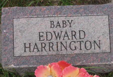 HARRINGTON, BABY  EDWARD - Linn County, Iowa   BABY  EDWARD HARRINGTON