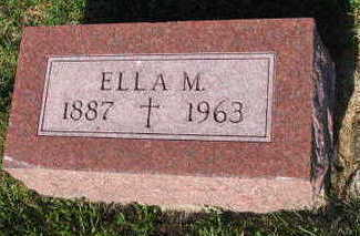 HARRINGTON, ELLA M. - Linn County, Iowa | ELLA M. HARRINGTON