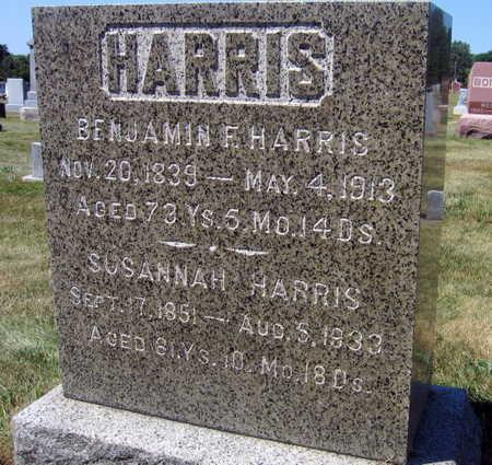 HARRIS, SUSANNAH - Linn County, Iowa | SUSANNAH HARRIS
