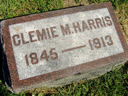 HARRIS, CLEMIE M. - Linn County, Iowa | CLEMIE M. HARRIS