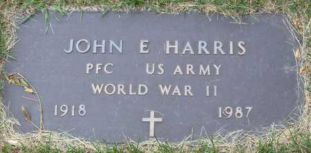 HARRIS, JOHN E - Linn County, Iowa | JOHN E HARRIS