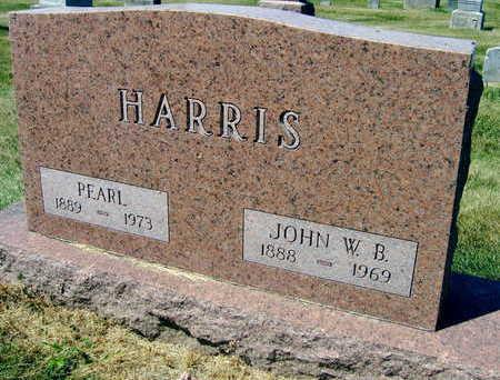 HARRIS, PEARL - Linn County, Iowa | PEARL HARRIS