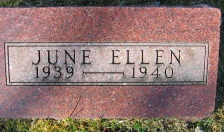 HARTL, JUNE ELLEN - Linn County, Iowa   JUNE ELLEN HARTL