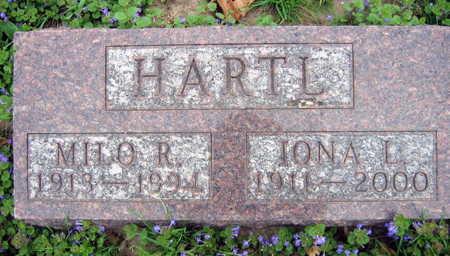 HARTL, IONA L. - Linn County, Iowa | IONA L. HARTL