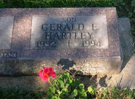 HARTLEY, GERALD E. - Linn County, Iowa | GERALD E. HARTLEY