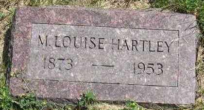 HARTLEY, M. LOUISE - Linn County, Iowa   M. LOUISE HARTLEY