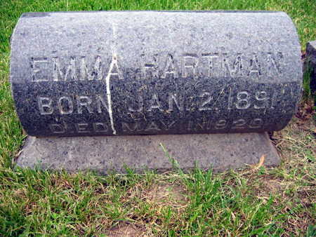 HARTMAN, EMMA - Linn County, Iowa | EMMA HARTMAN