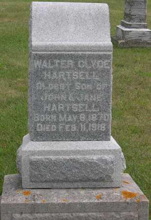 HARTSELL, WALTER CLYDE - Linn County, Iowa   WALTER CLYDE HARTSELL