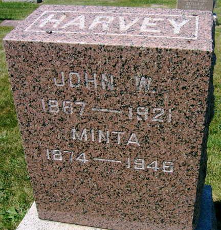 HARVEY, JOHN W. - Linn County, Iowa   JOHN W. HARVEY