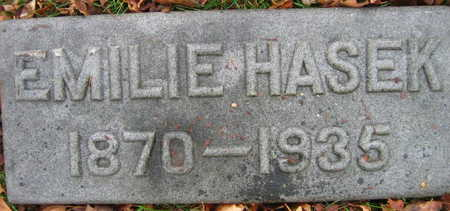 HASEK, EMILIE - Linn County, Iowa   EMILIE HASEK