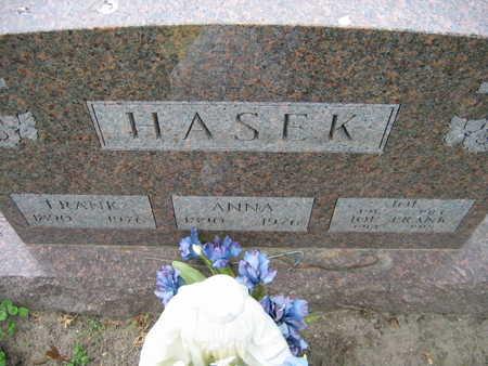 HASEK, FRANK - Linn County, Iowa | FRANK HASEK
