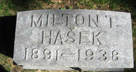 HASEK, MILTON T. - Linn County, Iowa | MILTON T. HASEK