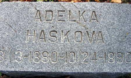 HASKOVA, ADELKA - Linn County, Iowa   ADELKA HASKOVA