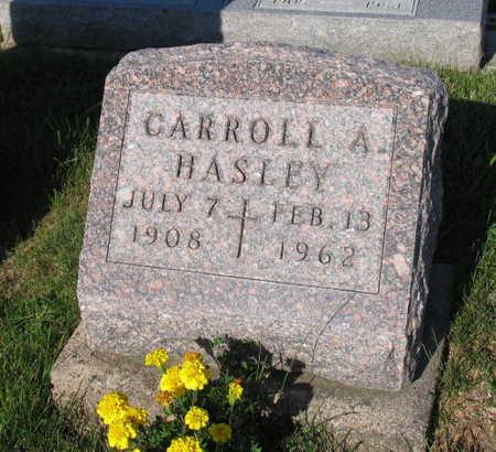 HASLEY, CARROLL A. - Linn County, Iowa   CARROLL A. HASLEY
