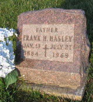 HASLEY, FRANK H. - Linn County, Iowa | FRANK H. HASLEY