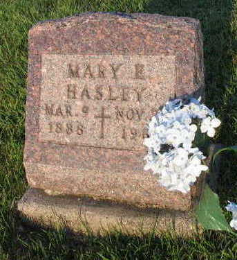 HASLEY, MARY E. - Linn County, Iowa | MARY E. HASLEY