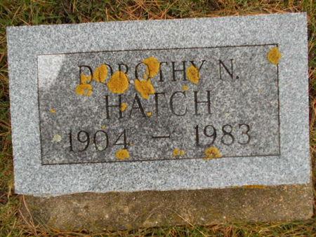 HATCH, DOROTHY N. - Linn County, Iowa | DOROTHY N. HATCH