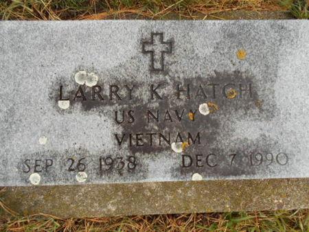 HATCH, LARRY K. - Linn County, Iowa | LARRY K. HATCH