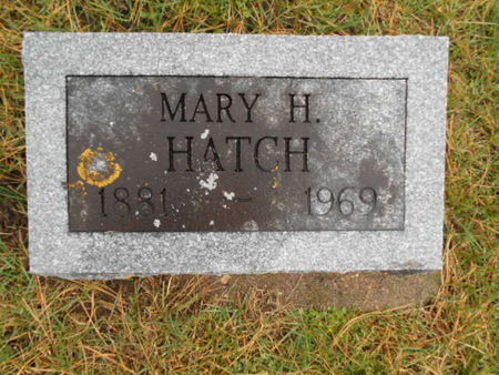 CRANE HATCH, MARY H. - Linn County, Iowa | MARY H. CRANE HATCH