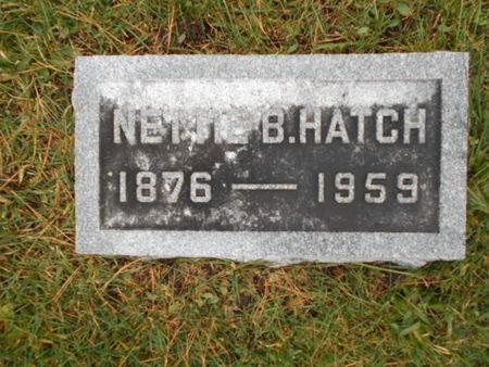 HATCH, NETTIE B. - Linn County, Iowa | NETTIE B. HATCH