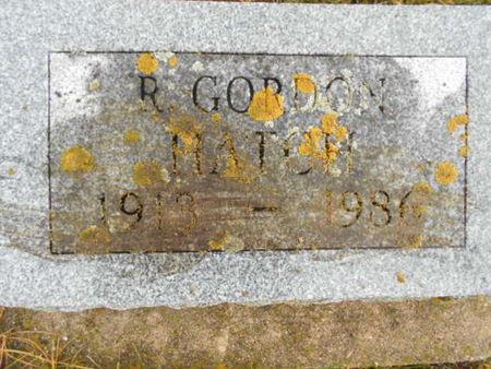 HATCH, ROBERT GORDON - Linn County, Iowa | ROBERT GORDON HATCH