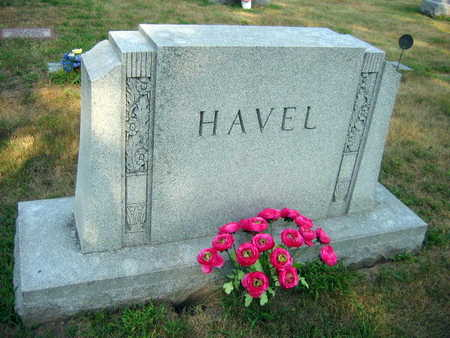 HAVEL, FAMILY STONE - Linn County, Iowa | FAMILY STONE HAVEL