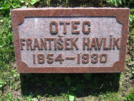 HAVLIK, FRANTISEK - Linn County, Iowa | FRANTISEK HAVLIK