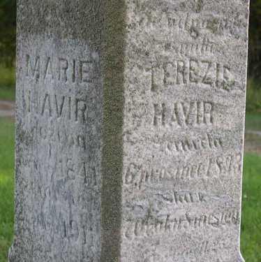 HAVIR, MARIE - Linn County, Iowa | MARIE HAVIR