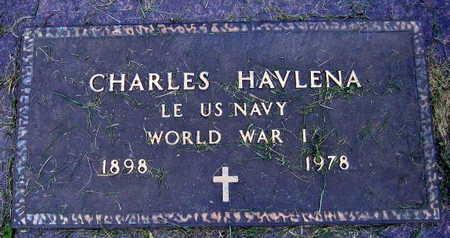 HAVLENA, CHARLES - Linn County, Iowa | CHARLES HAVLENA