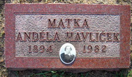 HAVLICEK, ANDELA - Linn County, Iowa | ANDELA HAVLICEK