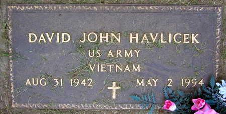 HAVLICEK, DAVID JOHN - Linn County, Iowa   DAVID JOHN HAVLICEK