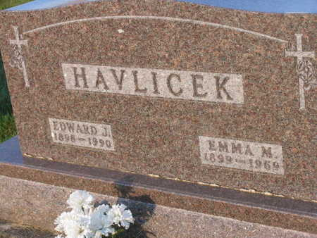 HAVLICEK, EMMA M. - Linn County, Iowa | EMMA M. HAVLICEK