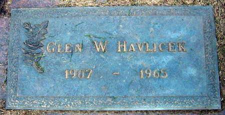 HAVLICEK, GLEN W. - Linn County, Iowa | GLEN W. HAVLICEK