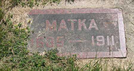 HAVLICEK, MATKA - Linn County, Iowa | MATKA HAVLICEK