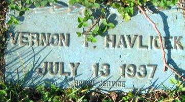 HAVLICEK, VERNON F - Linn County, Iowa | VERNON F HAVLICEK