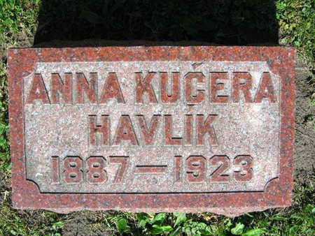 HAVLIK, ANNA - Linn County, Iowa   ANNA HAVLIK