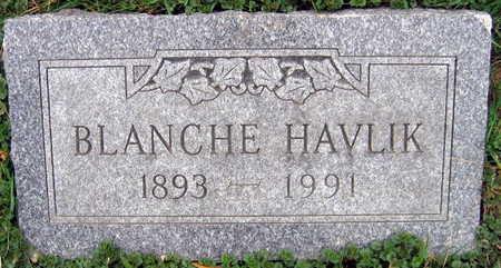 HAVLIK, BLANCHE - Linn County, Iowa   BLANCHE HAVLIK