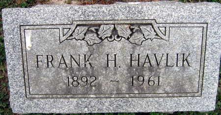 HAVLIK, FRANK H. - Linn County, Iowa | FRANK H. HAVLIK