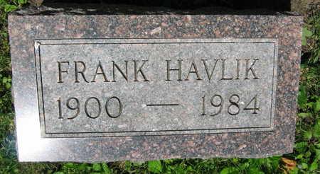 HAVLIK, FRANK - Linn County, Iowa | FRANK HAVLIK