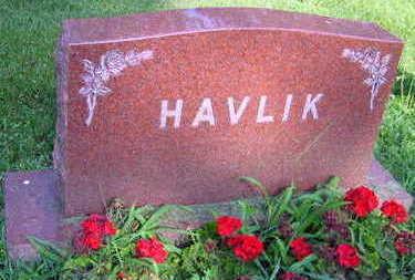 HAVLIK, FAMILY STONE - Linn County, Iowa   FAMILY STONE HAVLIK
