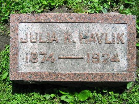 HAVLIK, JULIA K. - Linn County, Iowa   JULIA K. HAVLIK