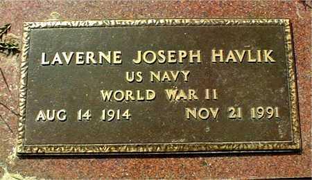 HAVLIK, LAVERNE JOSEPH - Linn County, Iowa   LAVERNE JOSEPH HAVLIK