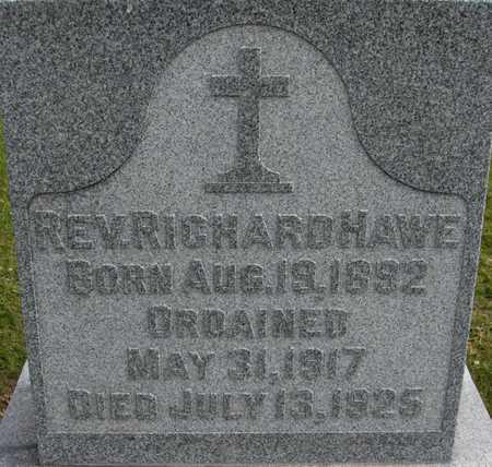HAWE, REV. RICHARD - Linn County, Iowa | REV. RICHARD HAWE