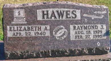 HAWES, RAYMOND J. - Linn County, Iowa   RAYMOND J. HAWES