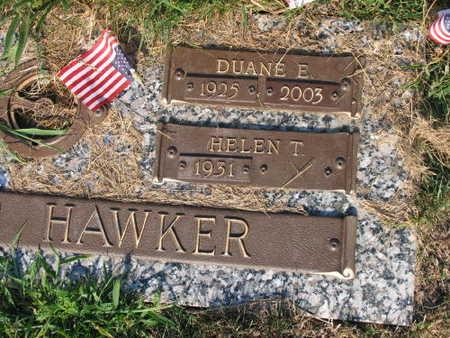 HAWKER, DUANE E. - Linn County, Iowa   DUANE E. HAWKER